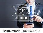seo  internet marketing e... | Shutterstock . vector #1028531710