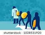vector concept illustration of... | Shutterstock .eps vector #1028531920