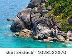 similan islands  phuket ...   Shutterstock . vector #1028532070