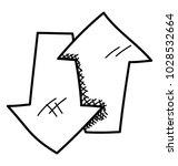 a directional arrows  upward...