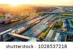 bay area rapid transit  bart ...   Shutterstock . vector #1028537218
