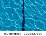 Water Lens To Pool Bottom. Blu...