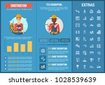 construction infographic... | Shutterstock .eps vector #1028539639
