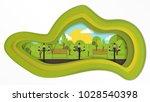 art green park | Shutterstock .eps vector #1028540398