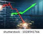 stock market chaos | Shutterstock . vector #1028541766
