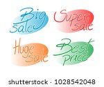 offer symbols design | Shutterstock .eps vector #1028542048