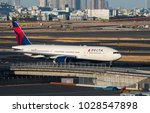 haneda   japan  january 27 ... | Shutterstock . vector #1028547898