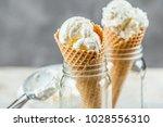 ice cream cone | Shutterstock . vector #1028556310