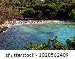 macarella  menorca   spain  ... | Shutterstock . vector #1028562409