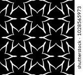 white floral ornament on black... | Shutterstock .eps vector #1028565973