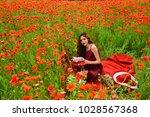 opium poppy  agile business ...   Shutterstock . vector #1028567368