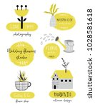 logos set template or labels... | Shutterstock .eps vector #1028581618