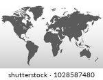 political world map | Shutterstock .eps vector #1028587480