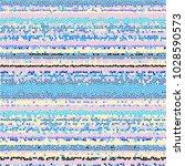 Mosaic Horizontal Stripe...