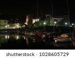 torri del benaco  lake garda ... | Shutterstock . vector #1028605729
