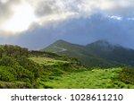 foggy landscape on paul da... | Shutterstock . vector #1028611210