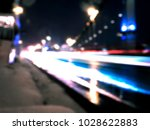 night city lights abstract out...   Shutterstock . vector #1028622883