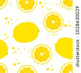background with lemons. juicy... | Shutterstock .eps vector #1028630029