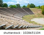 view hellenistic theater at the ...   Shutterstock . vector #1028651104
