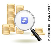 status coin cryptocurrency... | Shutterstock .eps vector #1028660554