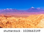 view on death valley an... | Shutterstock . vector #1028663149