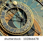 Detail Of Astronomical Clock I...
