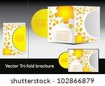 summer brochure.vector... | Shutterstock .eps vector #102866879
