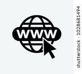 web icon vector | Shutterstock .eps vector #1028681494