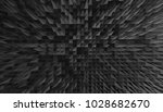 pyramidal abstract graphic | Shutterstock . vector #1028682670