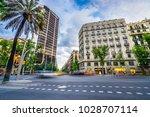 barcelona spain 5.11.2016 bank... | Shutterstock . vector #1028707114