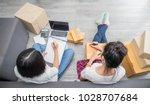 start up small business...   Shutterstock . vector #1028707684