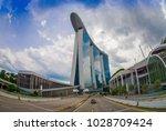 singapore  singapore   january... | Shutterstock . vector #1028709424