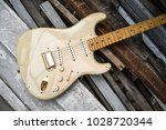 detail of vintage electric... | Shutterstock . vector #1028720344