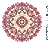 mandala indian floral paisley... | Shutterstock .eps vector #1028726260
