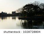 winter's kadoike park   Shutterstock . vector #1028728804