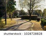 winter's kadoike park   Shutterstock . vector #1028728828