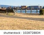 winter's kadoike park   Shutterstock . vector #1028728834