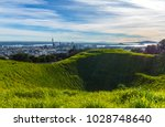 mt eden crater and view to... | Shutterstock . vector #1028748640