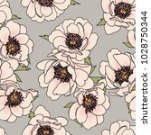 pretty floral vector design for ... | Shutterstock .eps vector #1028750344