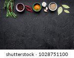 gastronomy  culinary. secrets... | Shutterstock . vector #1028751100