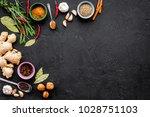 gastronomy  culinary. secrets... | Shutterstock . vector #1028751103