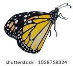 wattercolor illustration.... | Shutterstock . vector #1028758324