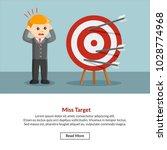 miss target job information | Shutterstock .eps vector #1028774968