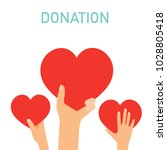 concept for charity. medical... | Shutterstock .eps vector #1028805418