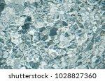 crystal liquid water surface... | Shutterstock . vector #1028827360