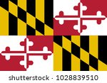 the usa state of maryland state ... | Shutterstock . vector #1028839510