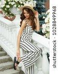 attractive and elegant rich...   Shutterstock . vector #1028849968