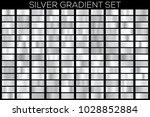 golden gradient noble metal set.... | Shutterstock .eps vector #1028852884