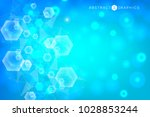 geometric abstract background... | Shutterstock .eps vector #1028853244