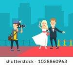 photographer shooting a... | Shutterstock .eps vector #1028860963